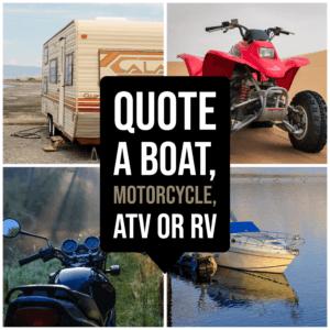 Boat Motorcycle RV Quotes Atlanta